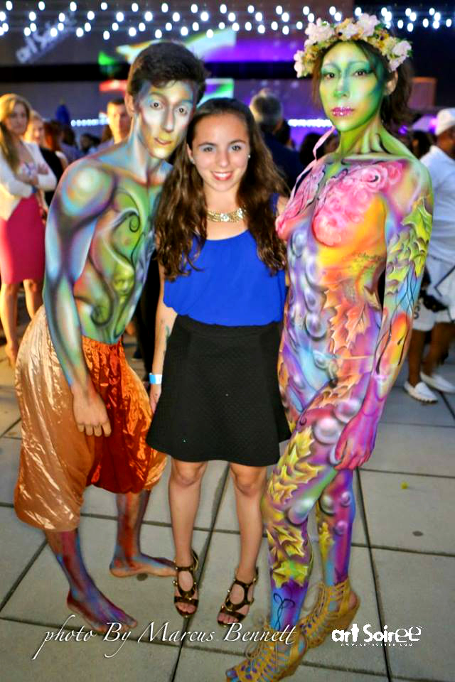 Body Painting by Impact Arts Company
