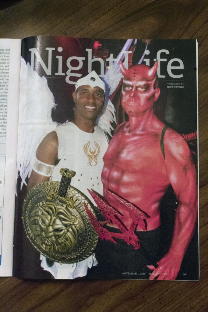 Impact Arts Company Bodypaint in Metro Weekly