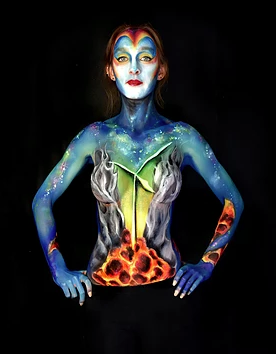 impact arts company body paint